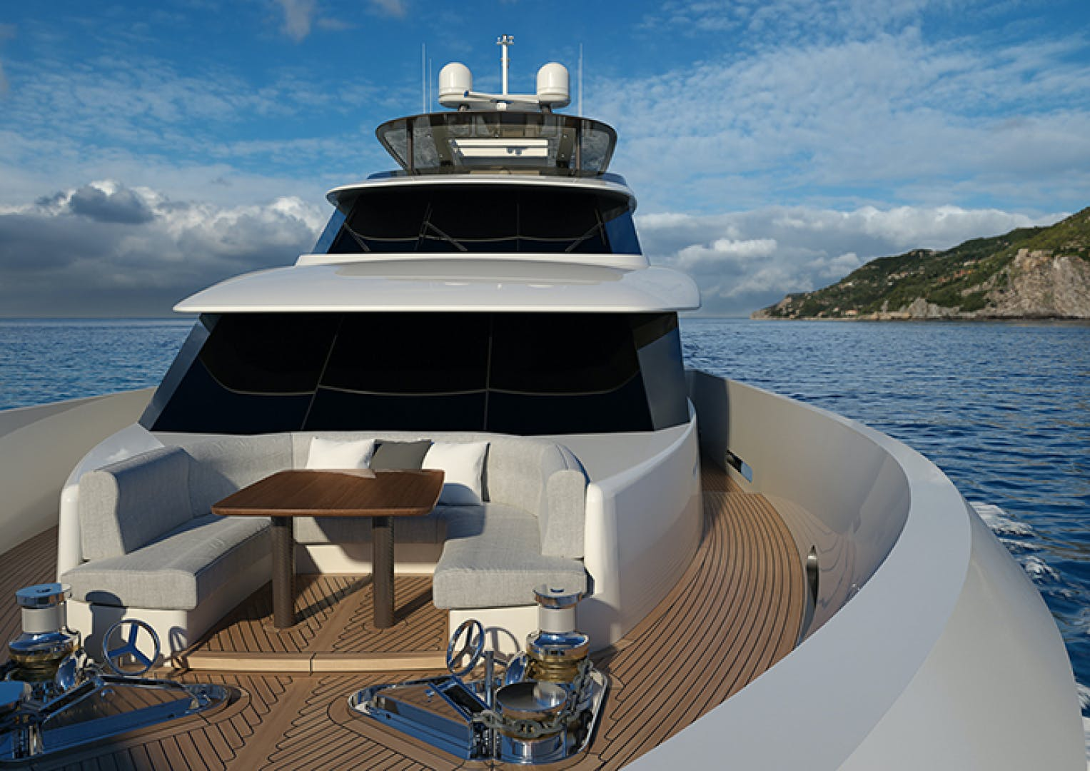 2022 Crescent 110' 110 Fast Pilothouse Yacht CRESCENT 110 | Picture 6 of 13