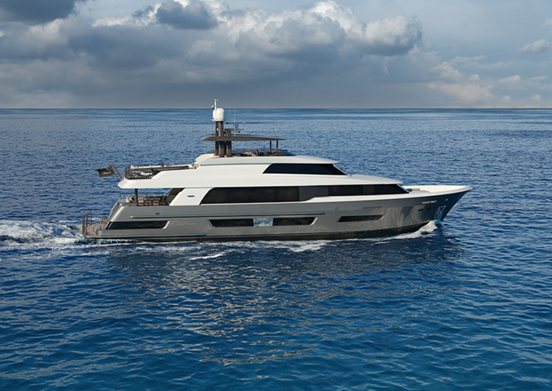 "2022 Crescent 110' 110 Fast Pilothouse Yacht ""CRESCENT 110"""