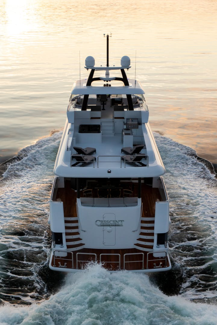 2020 Crescent 117' Custom Fast Pilothouse Yacht CRESCENT 117 | Picture 4 of 23