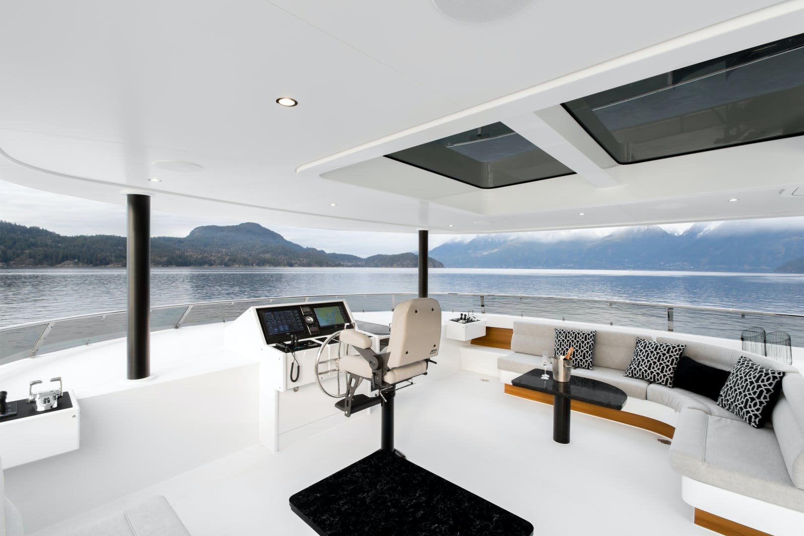 2020 Crescent 117' Custom Fast Pilothouse Yacht CRESCENT 117 | Picture 3 of 23