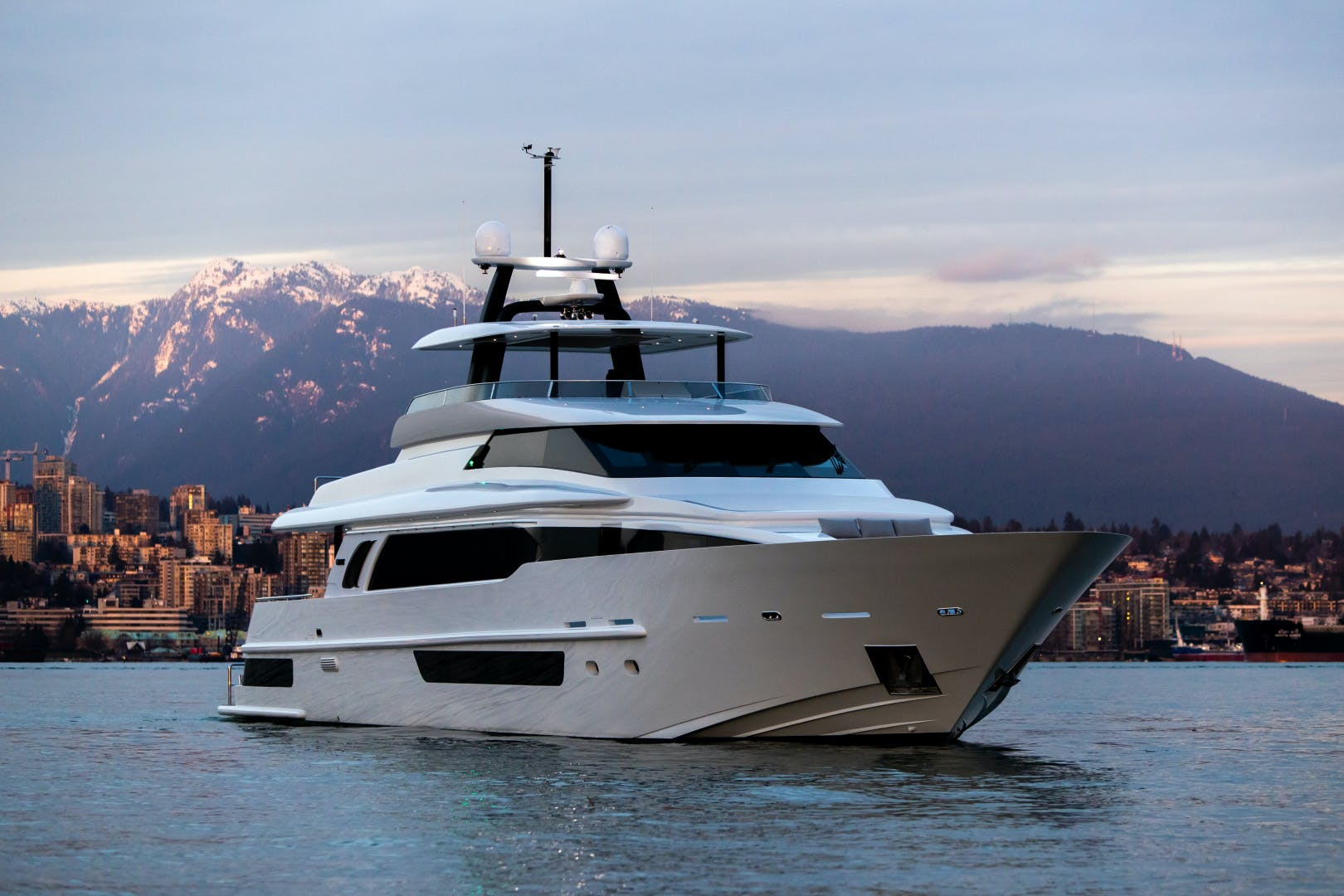 2020 Crescent 117' Custom Fast Pilothouse Yacht CRESCENT 117 | Picture 1 of 23