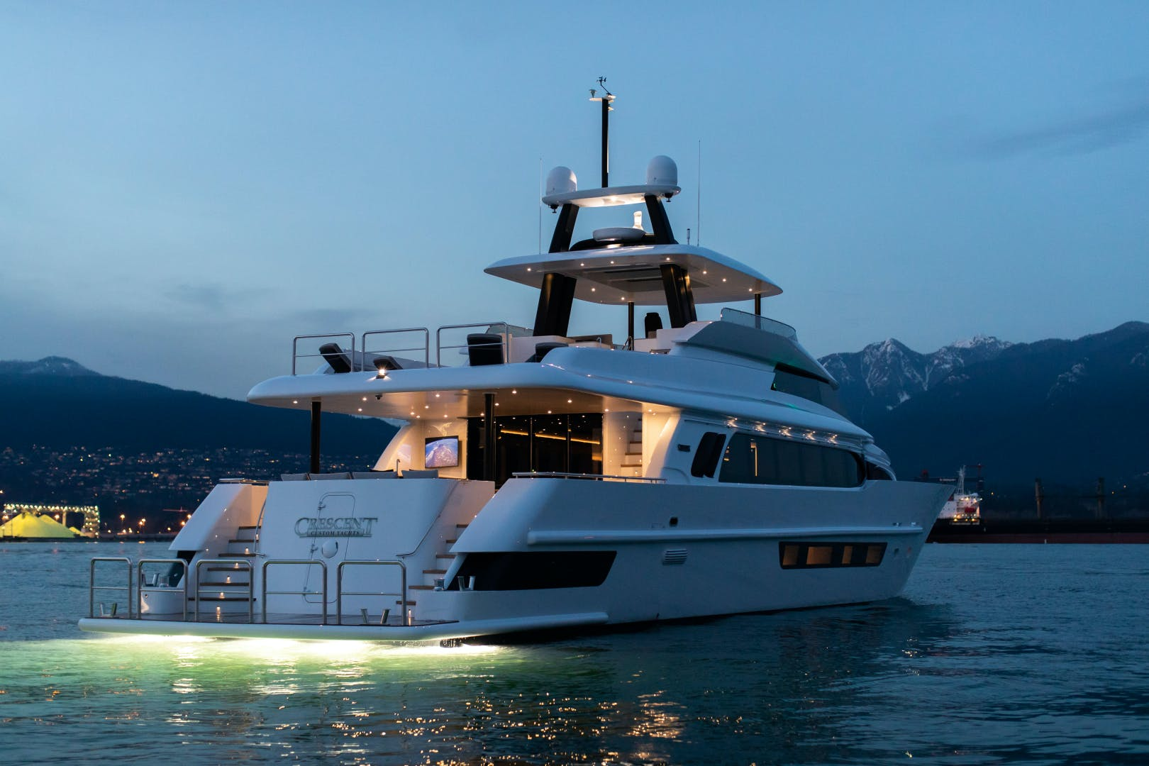 2020 Crescent 117' Custom Fast Pilothouse Yacht CRESCENT 117 | Picture 2 of 23