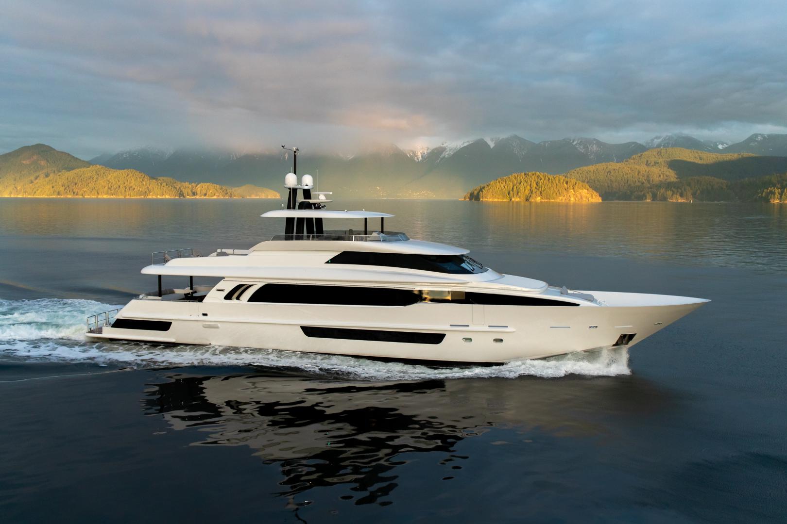"2020 Crescent 117' Custom Fast Pilothouse Yacht ""CRESCENT 117"""
