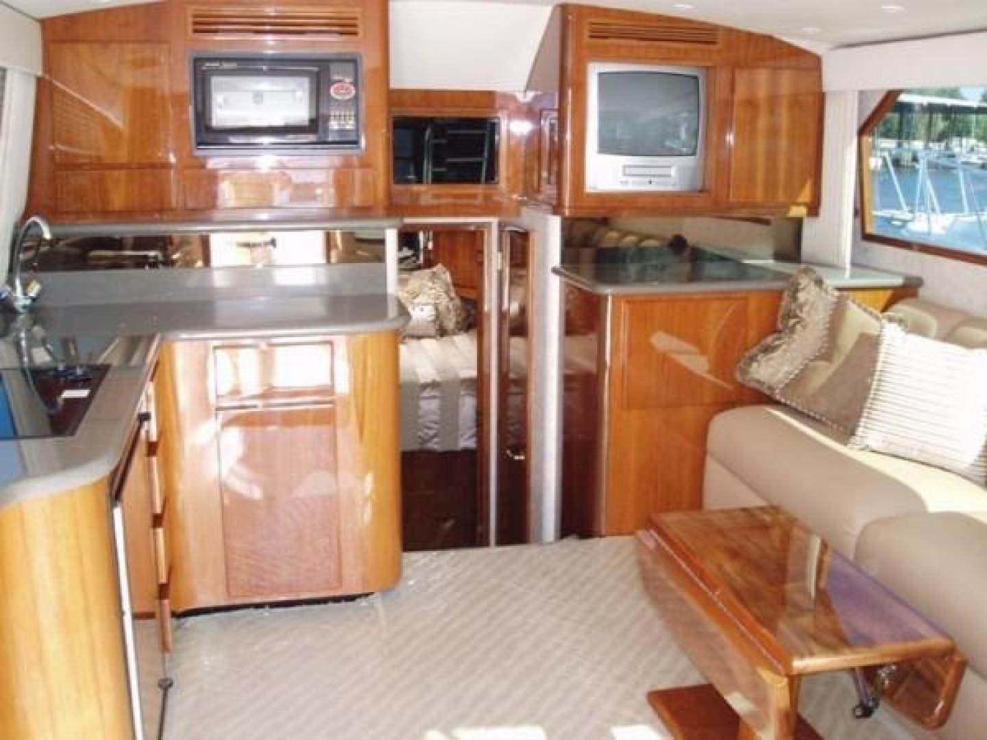 2004 Egg Harbor 37' 37 SportYacht Off The Chart   Picture 4 of 19