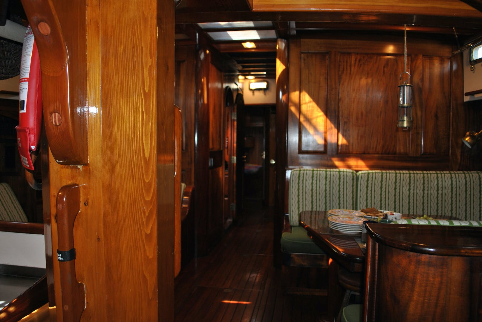 1991 Covey Island Boat Works 73' Schooner TREE OF LIFE | Picture 8 of 45