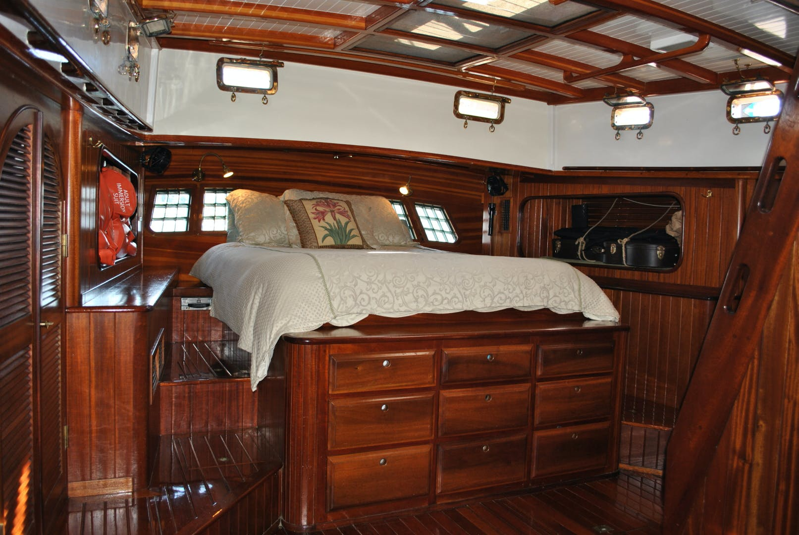 1991 Covey Island Boat Works 73' Schooner TREE OF LIFE | Picture 7 of 45