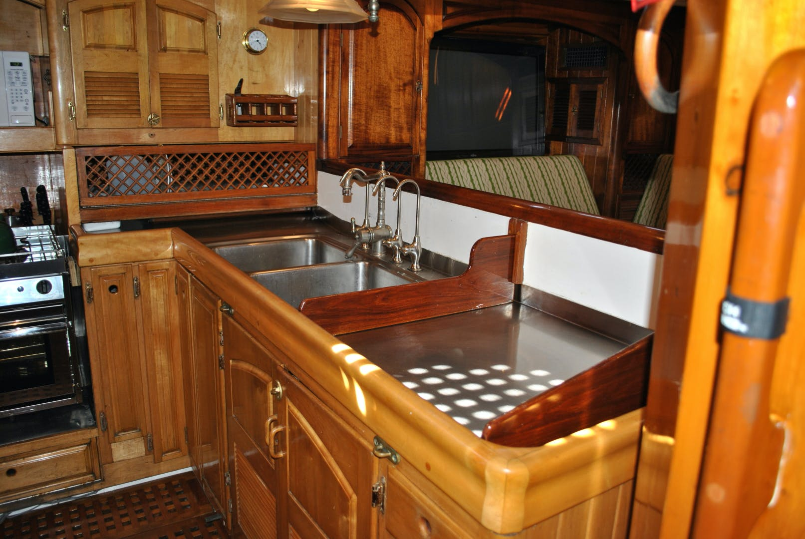 1991 Covey Island Boat Works 73' Schooner TREE OF LIFE | Picture 5 of 45