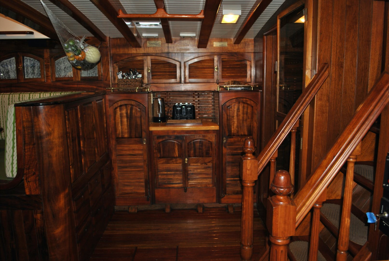 1991 Covey Island Boat Works 73' Schooner TREE OF LIFE | Picture 3 of 45