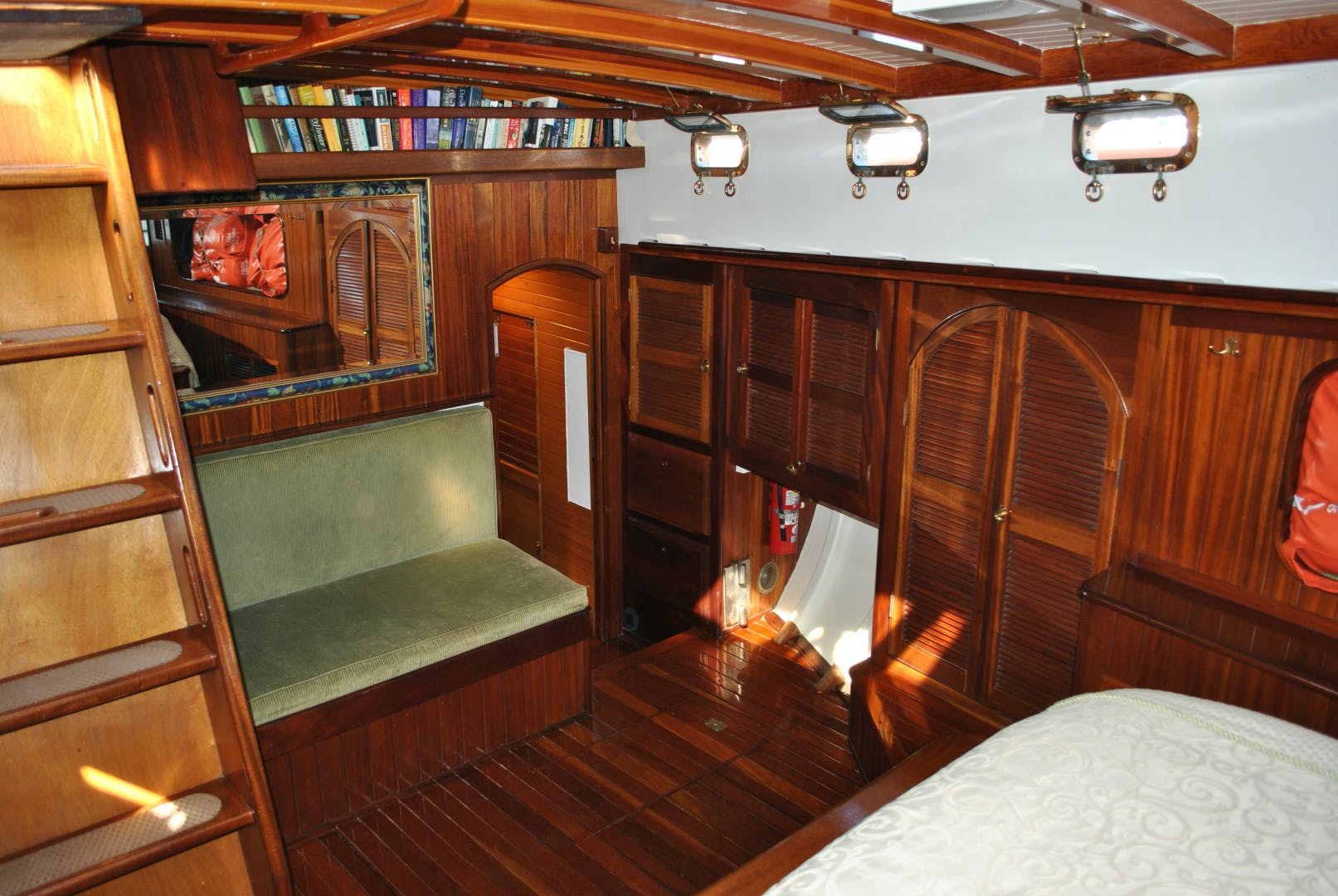 1991 Covey Island Boat Works 73' Schooner TREE OF LIFE | Picture 4 of 45
