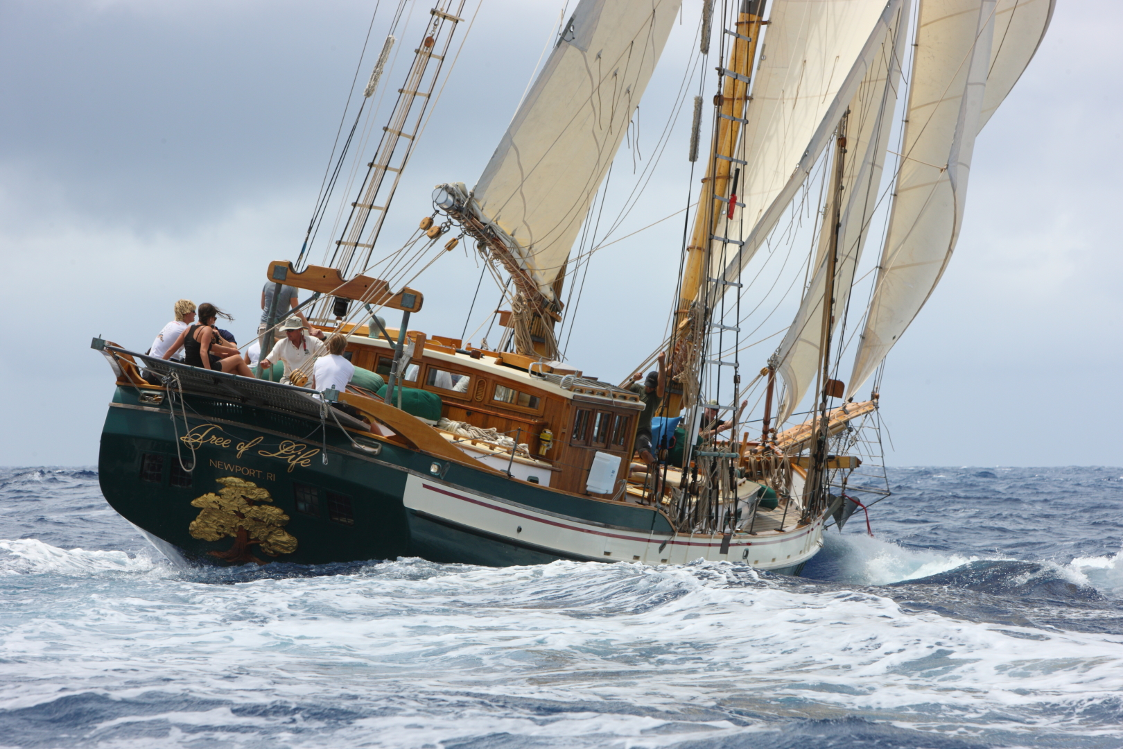 "1991 Covey Island Boat Works 73' Schooner ""TREE OF LIFE"""