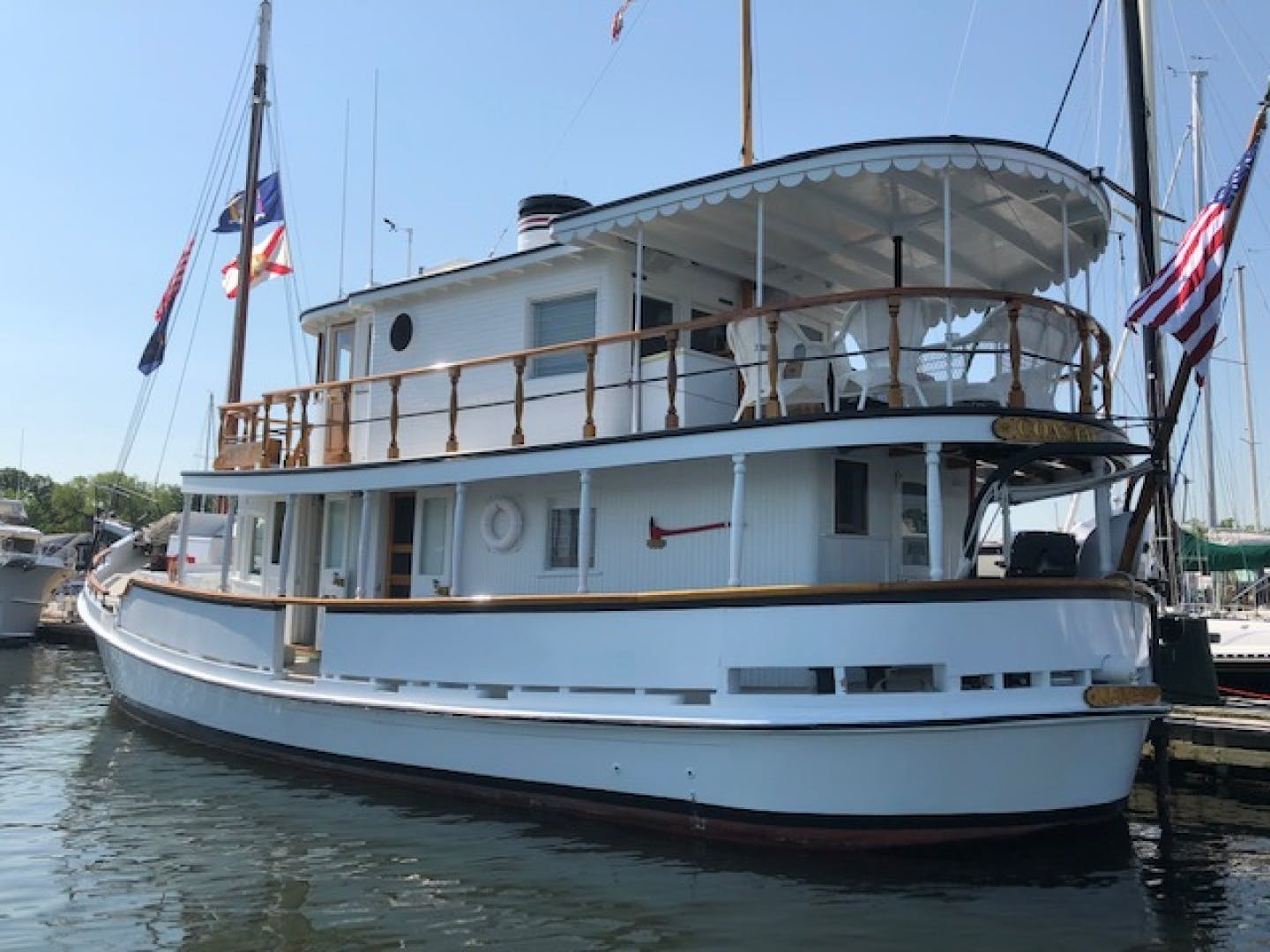 1928 Chesapeake 72' Chesapeake Buy Boat COASTAL QUEEN | Picture 2 of 21