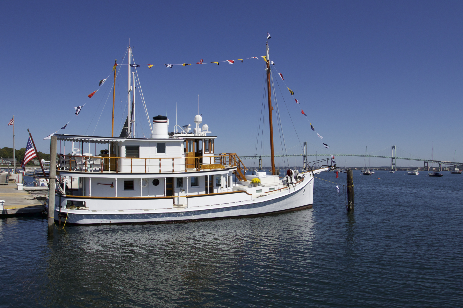 "1928 Chesapeake 72' Chesapeake Buy Boat ""COASTAL QUEEN"""
