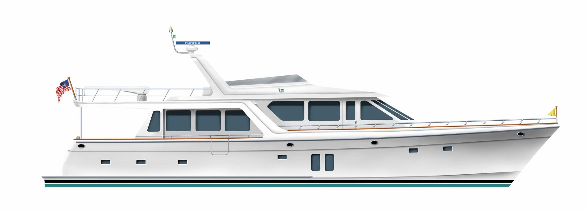 2020 Offshore Yachts 76' 76/80 Motoryacht