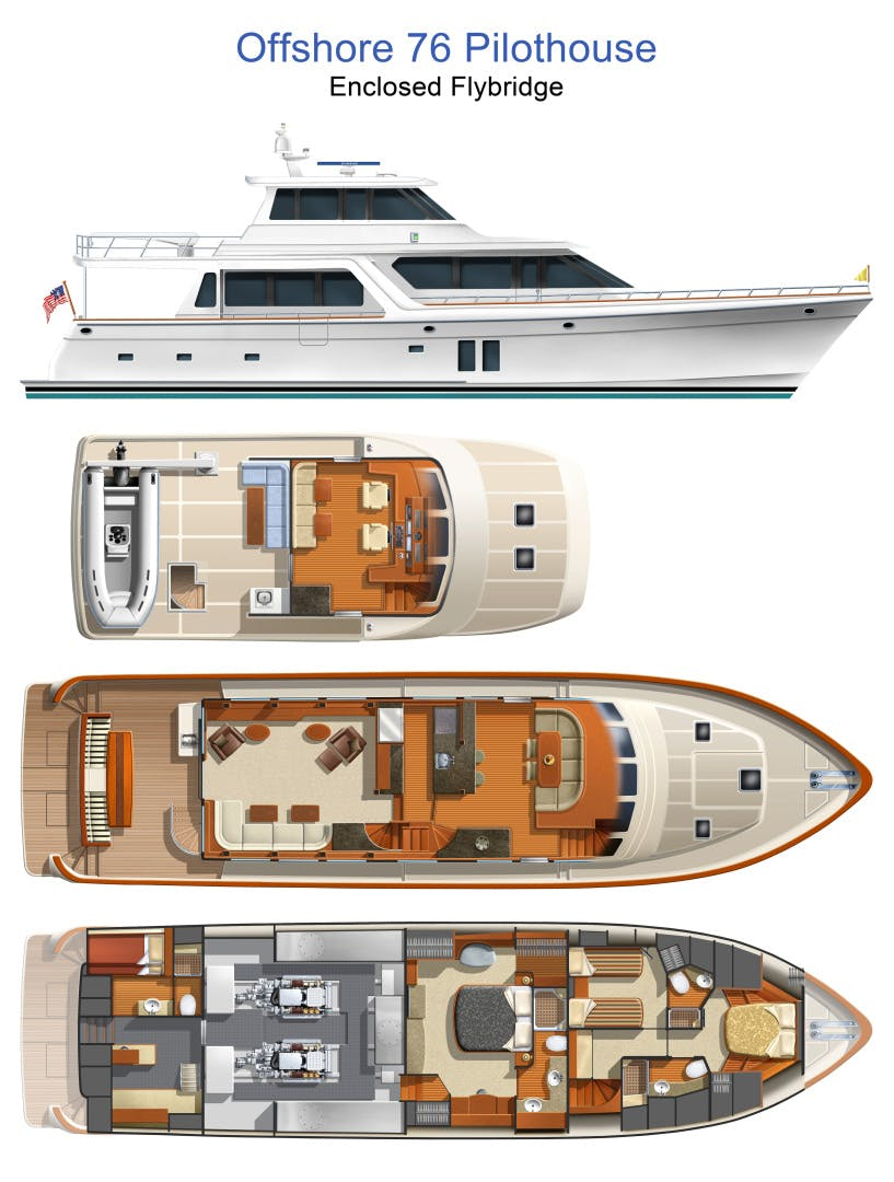 2020 Offshore Yachts 76' 76/80 Motoryacht    Picture 2 of 10