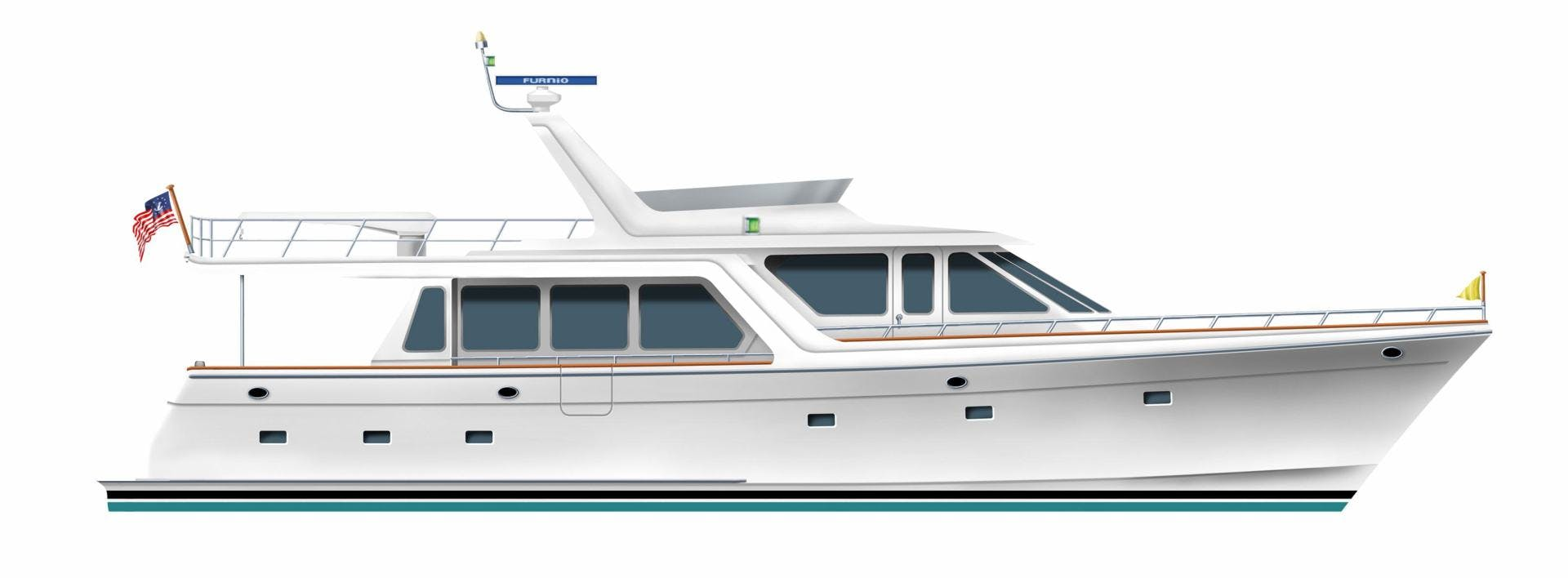 2020 Offshore Yachts 66' 66/72 Pilothouse  | Picture 1 of 10