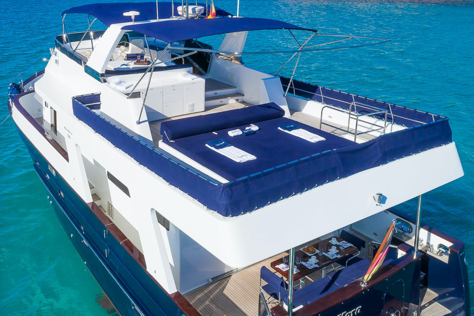 2007 Custom 70' Blue Sailor Shipyard 70'  MAXMARA | Picture 3 of 27