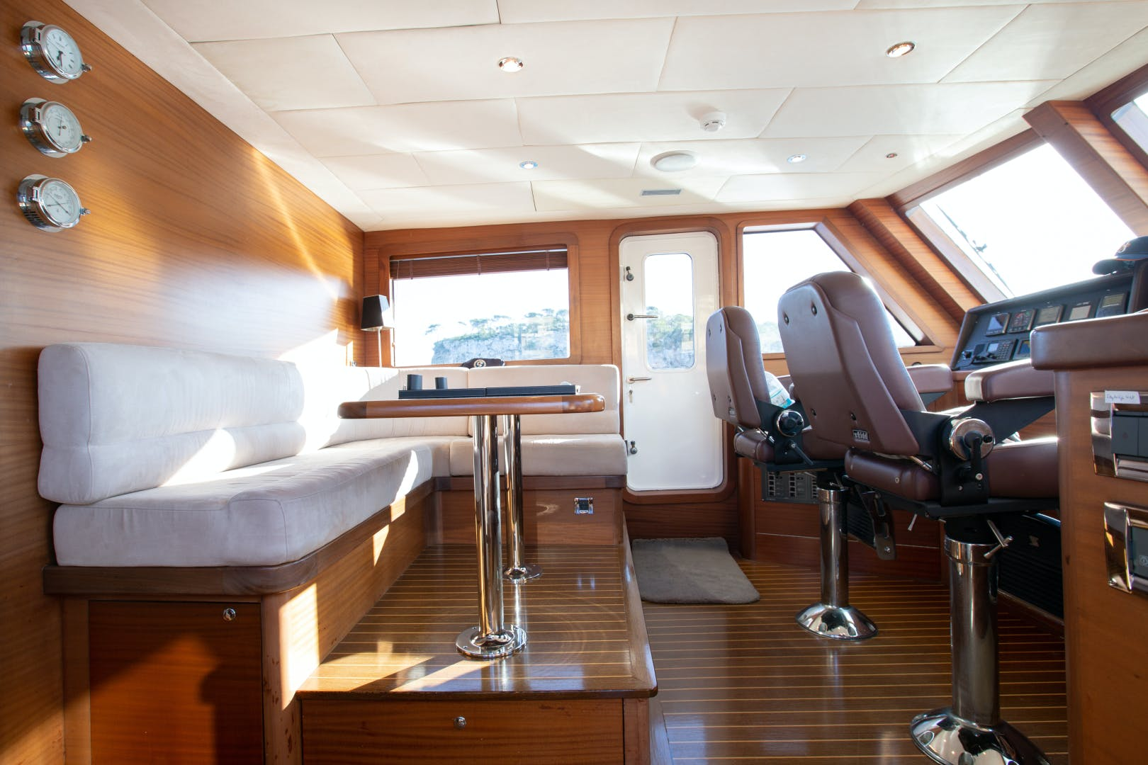 2007 Custom 70' Blue Sailor Shipyard 70'  MAXMARA | Picture 4 of 27