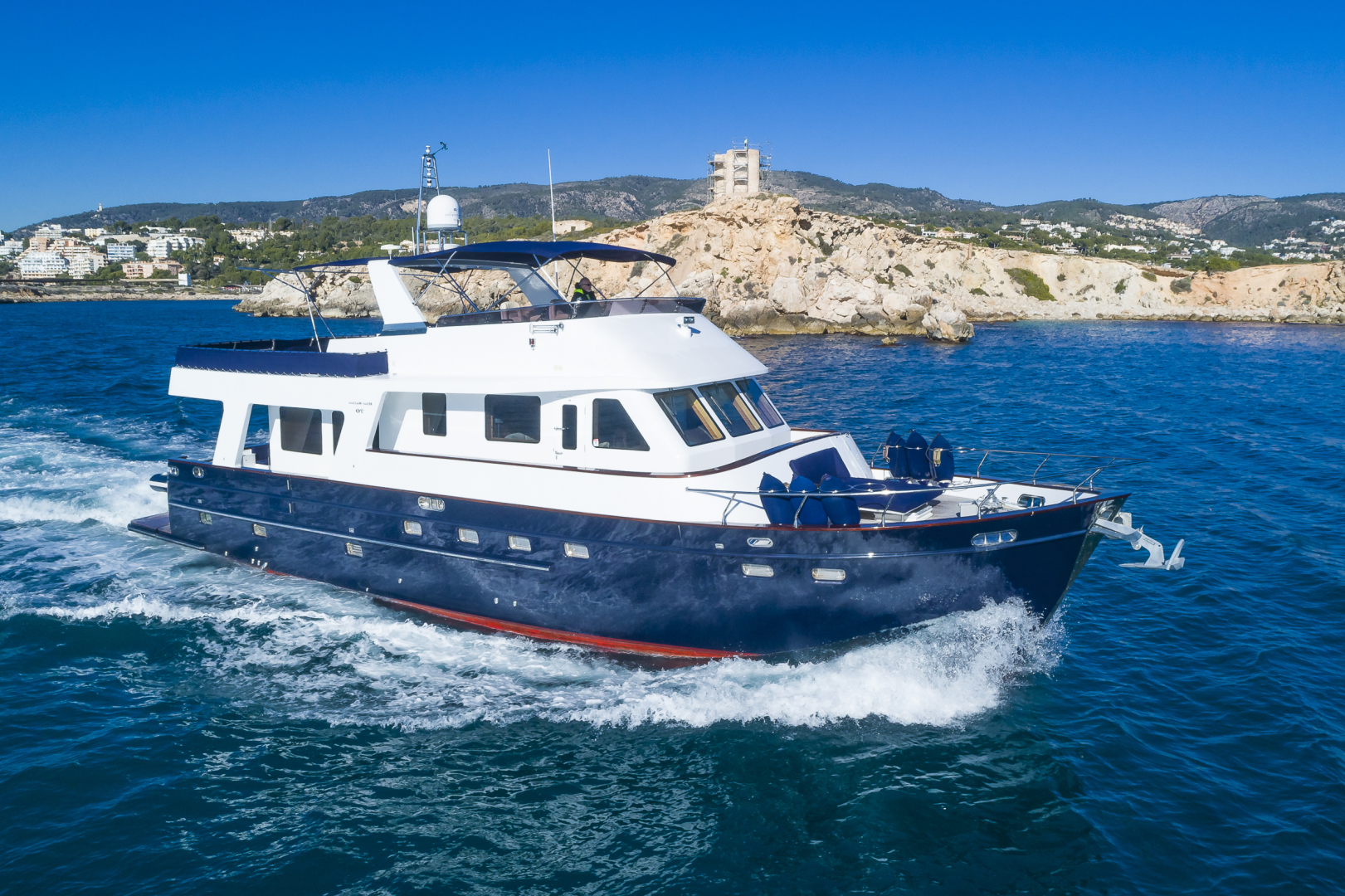 "2007 Custom 70' Blue Sailor Shipyard 70'  ""MAXMARA"""