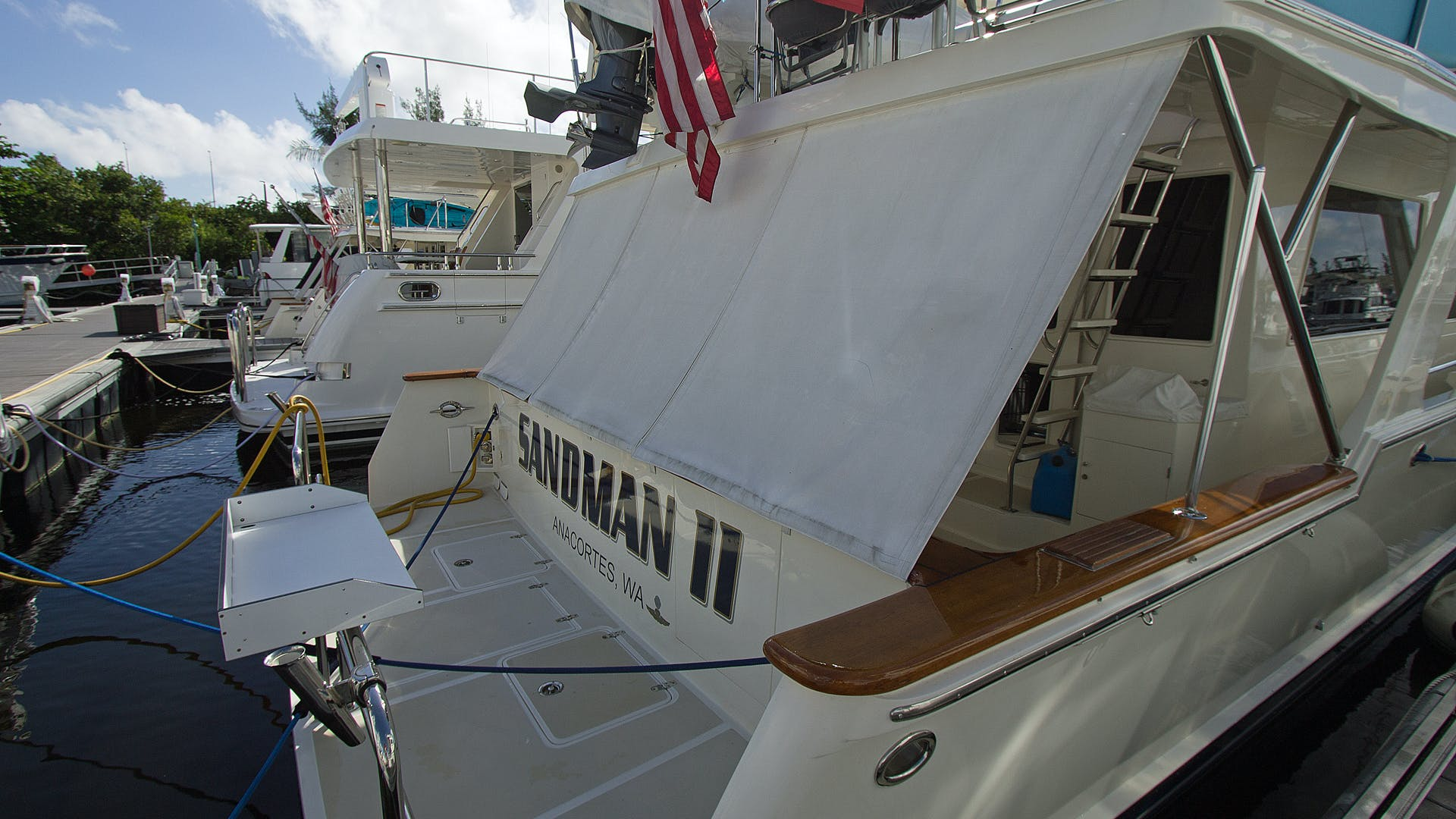 2001 Offshore Yachts 62' Pilothouse Sandman II   Picture 2 of 25