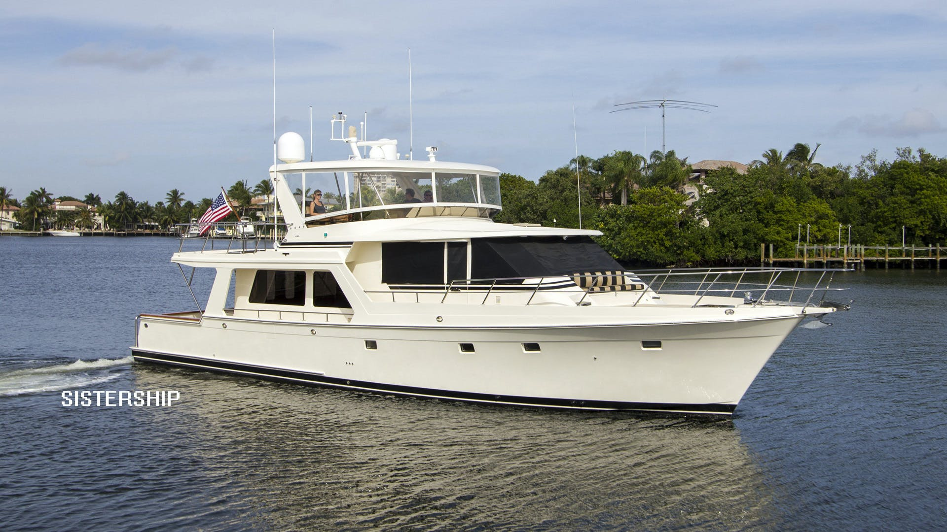 2001 Offshore Yachts 62' Pilothouse Sandman II   Picture 1 of 25