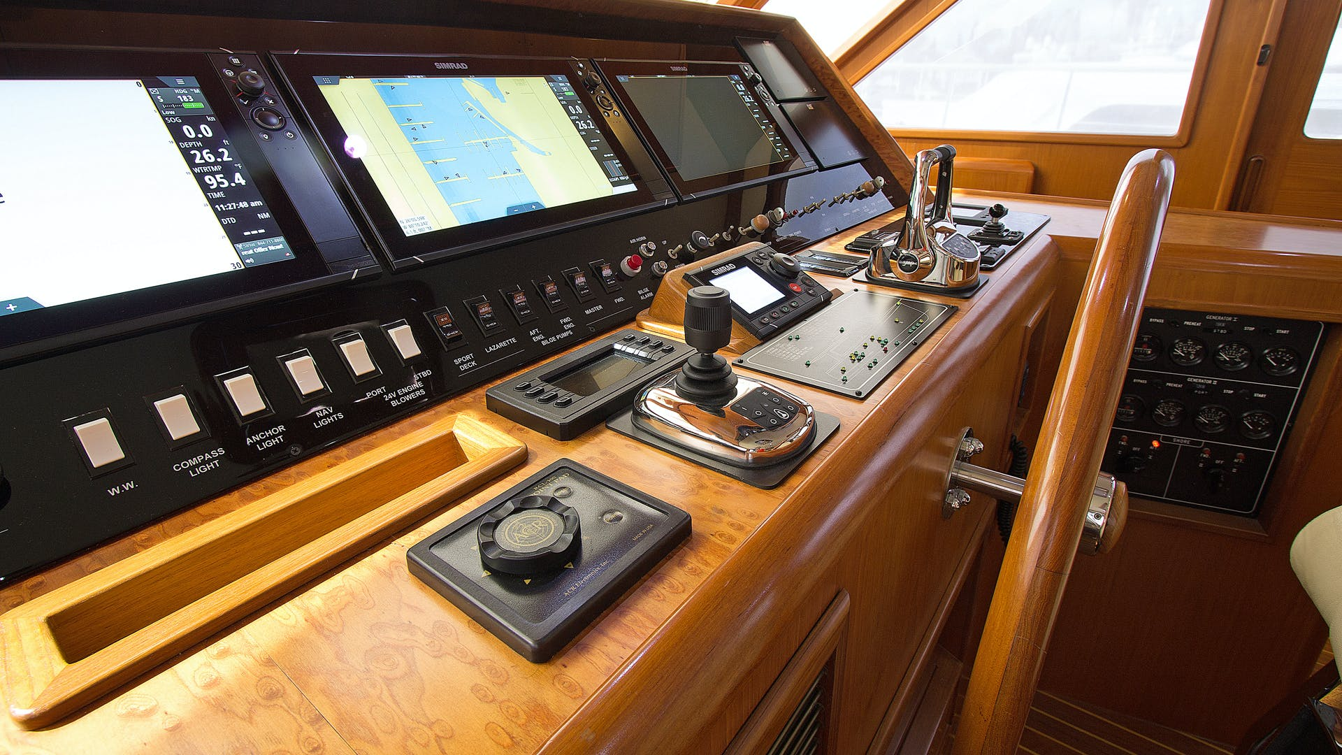 2001 Offshore Yachts 62' Pilothouse Sandman II   Picture 8 of 25