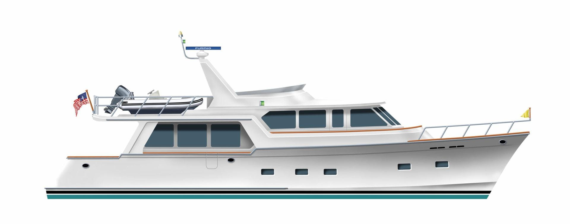 2020 Offshore Yachts 64' 64 Voyager  | Picture 1 of 7