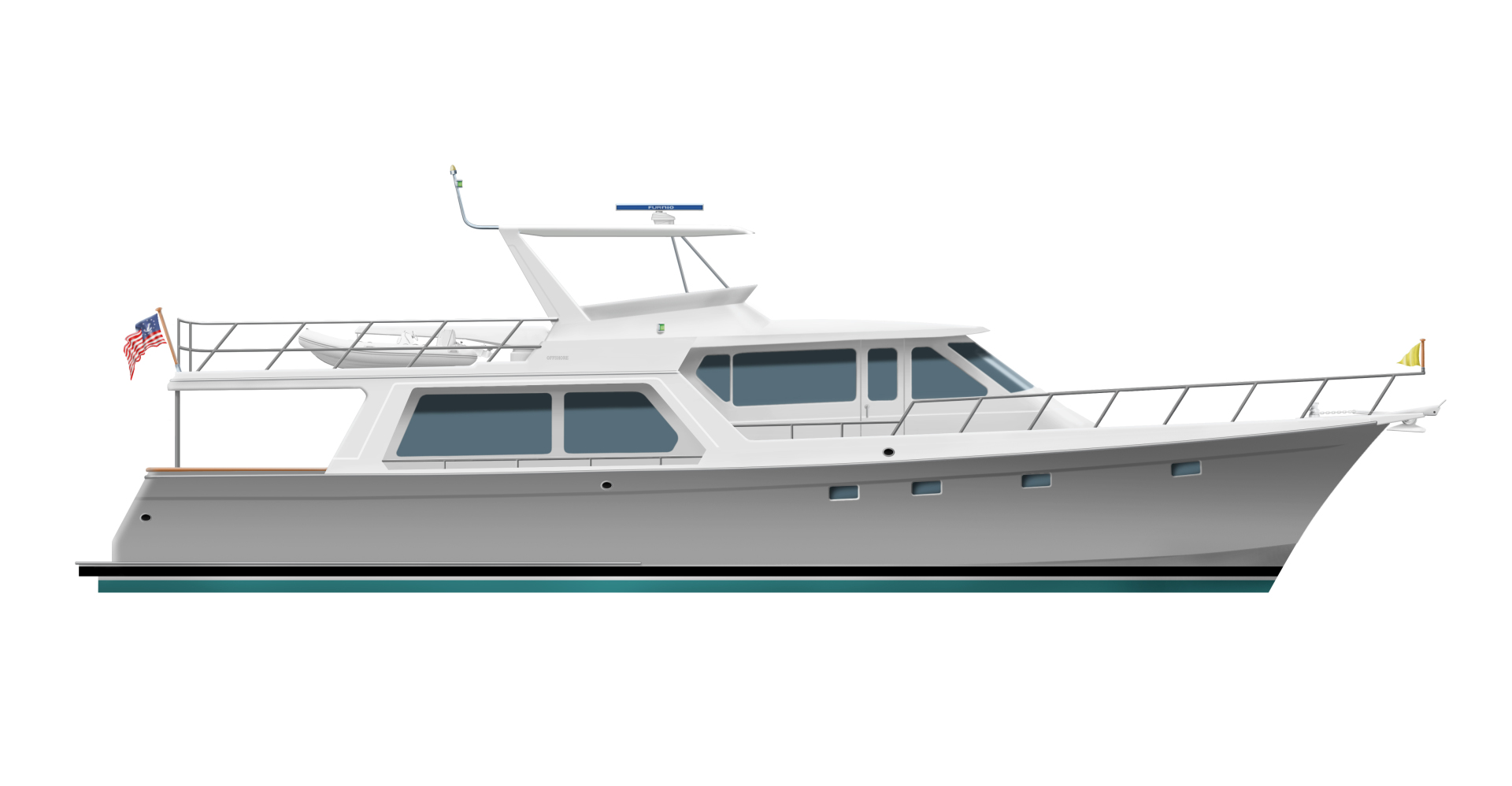 2020 Offshore Yachts 64' Pilothouse