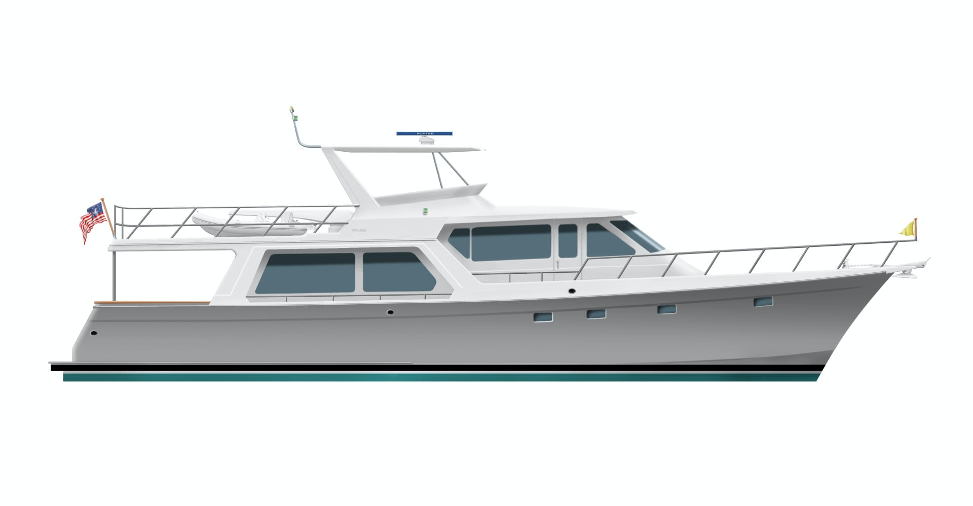 2020 Offshore Yachts 64' Pilothouse  | Picture 1 of 4