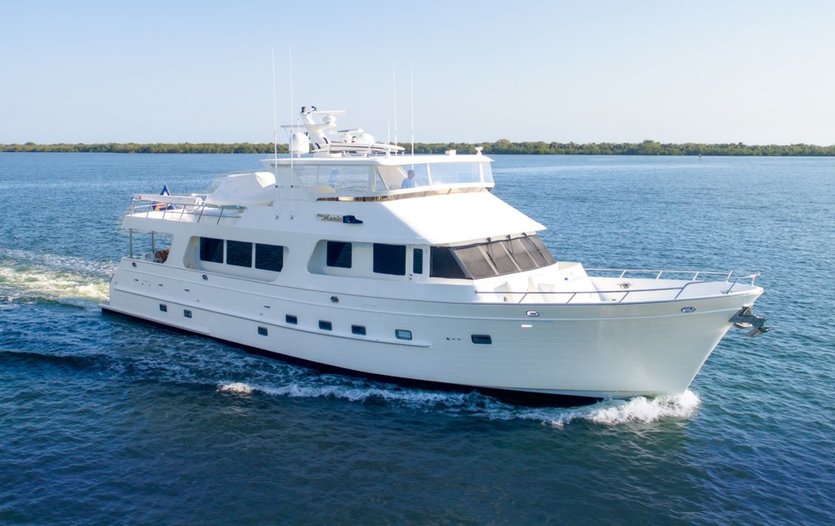 80' Outer Reef Yachts 2007 Raised Pilothouse MS. MONICA