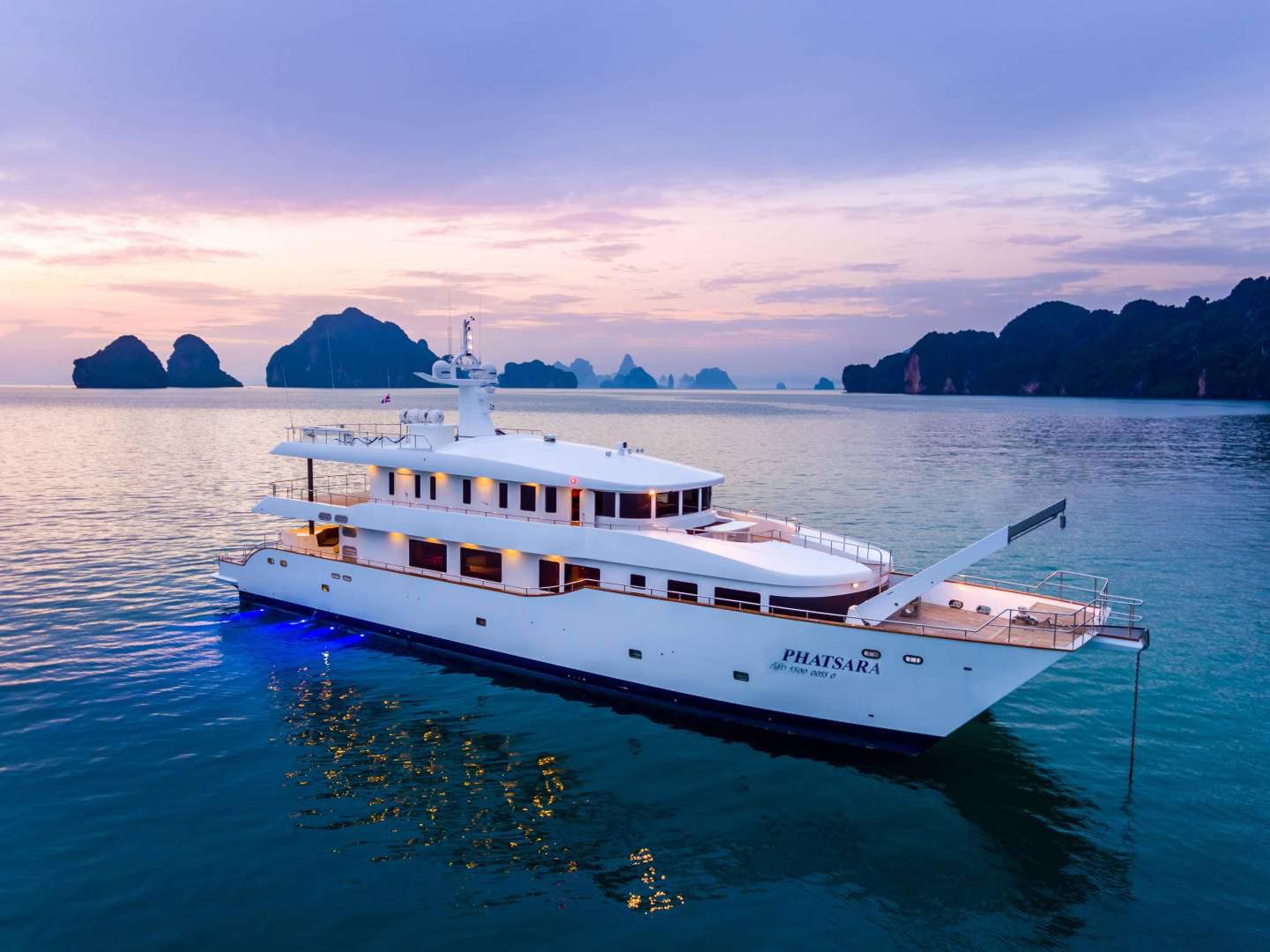 """2012 Custom 120' Incat Crowther 37M Power Catamaran """"Phatsara"""""""