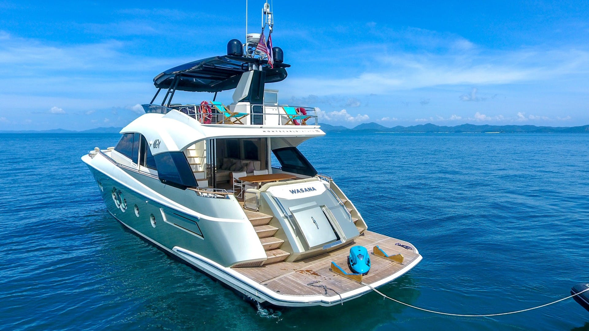 2015 Monte Carlo Yachts 70' Monte Carlo Yachts 70 Wasana | Picture 7 of 36