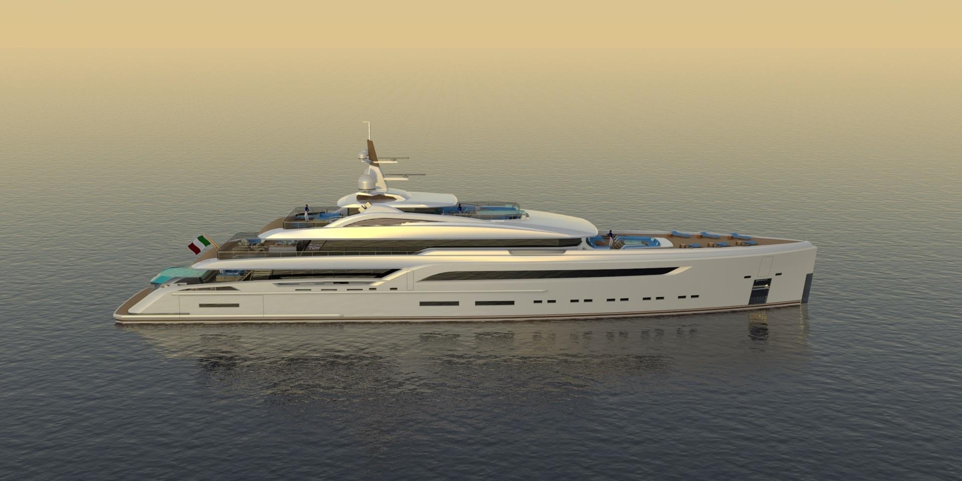 "2023 Custom 230' Preferred Builder - Fincantieri Yachts ""PLATINUM X"""