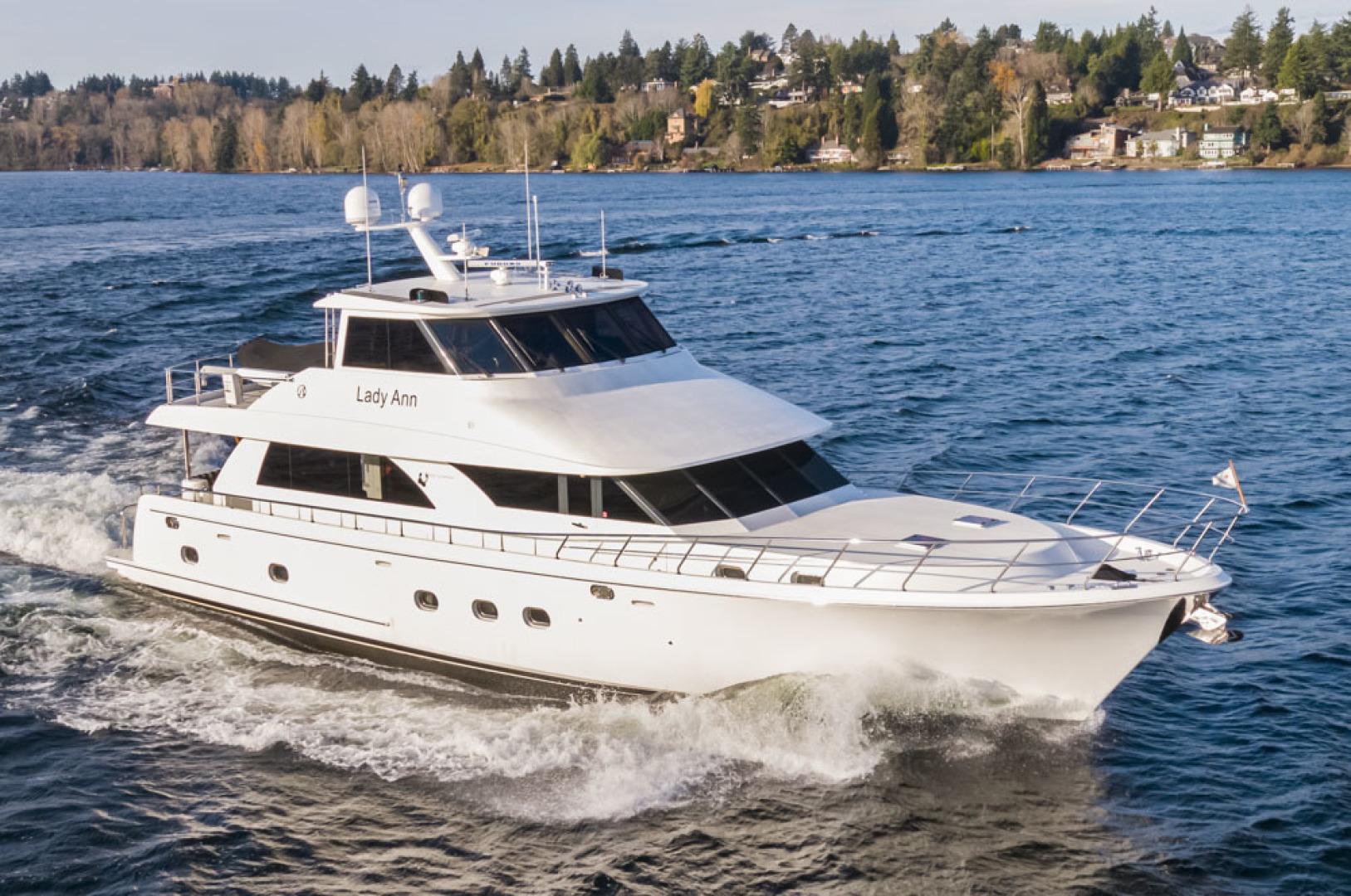 74' Ocean Alexander 2007 OA 74 LADY ANN