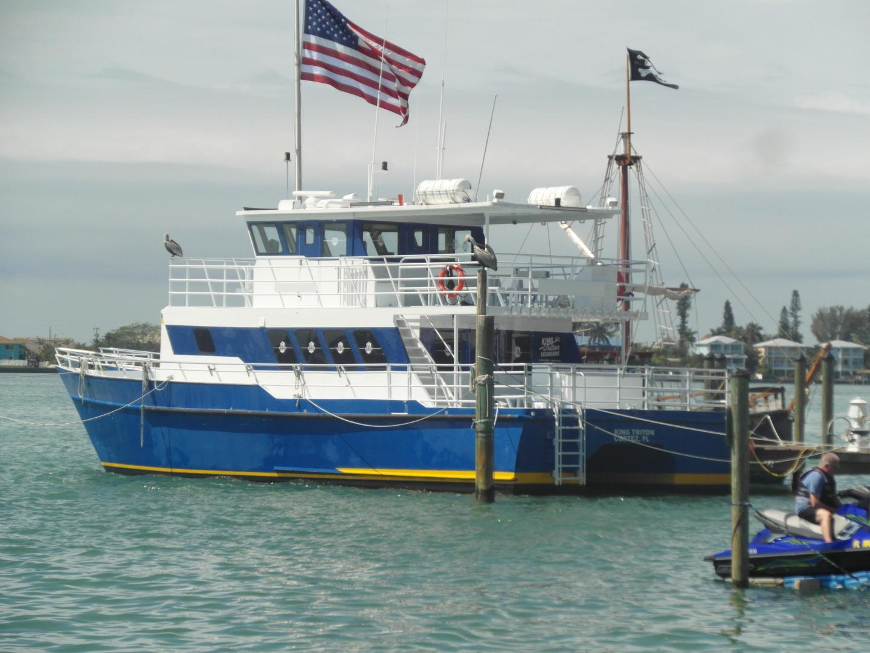 "2002 Custom 60' Tri-Kat 49 Passenger Catamaran ""King Triton"""