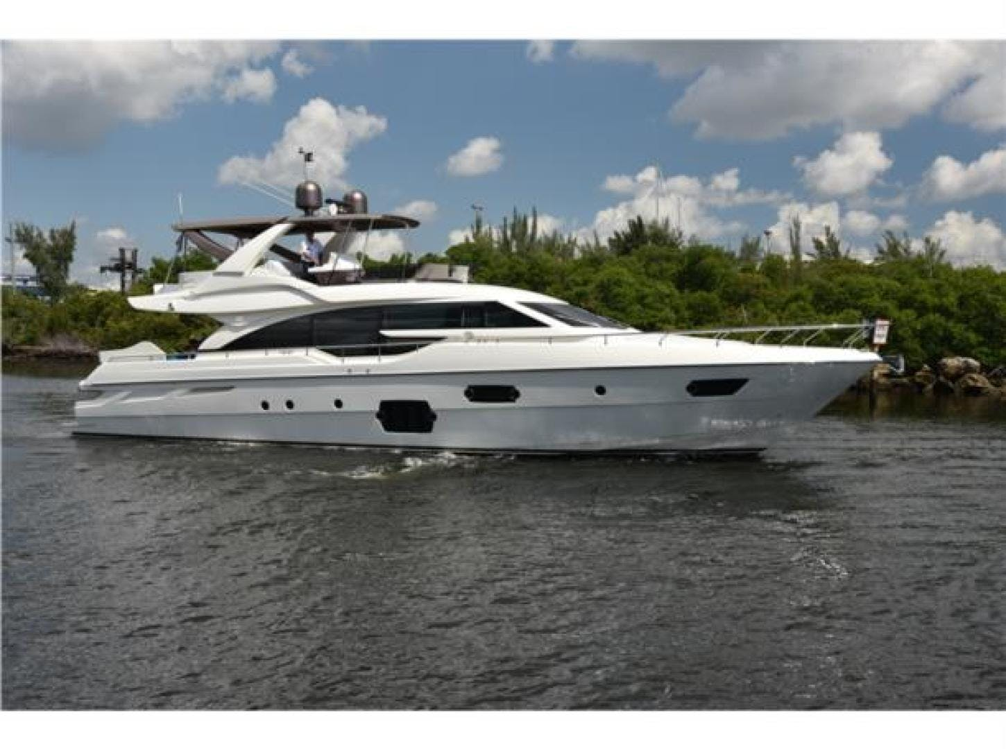 2015 Ferretti Yachts 69' 690 Blue Abalone   Picture 2 of 32
