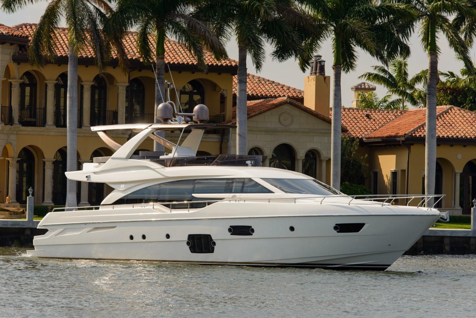 """2015 Ferretti Yachts 69' 690 """"Blue Abalone"""""""