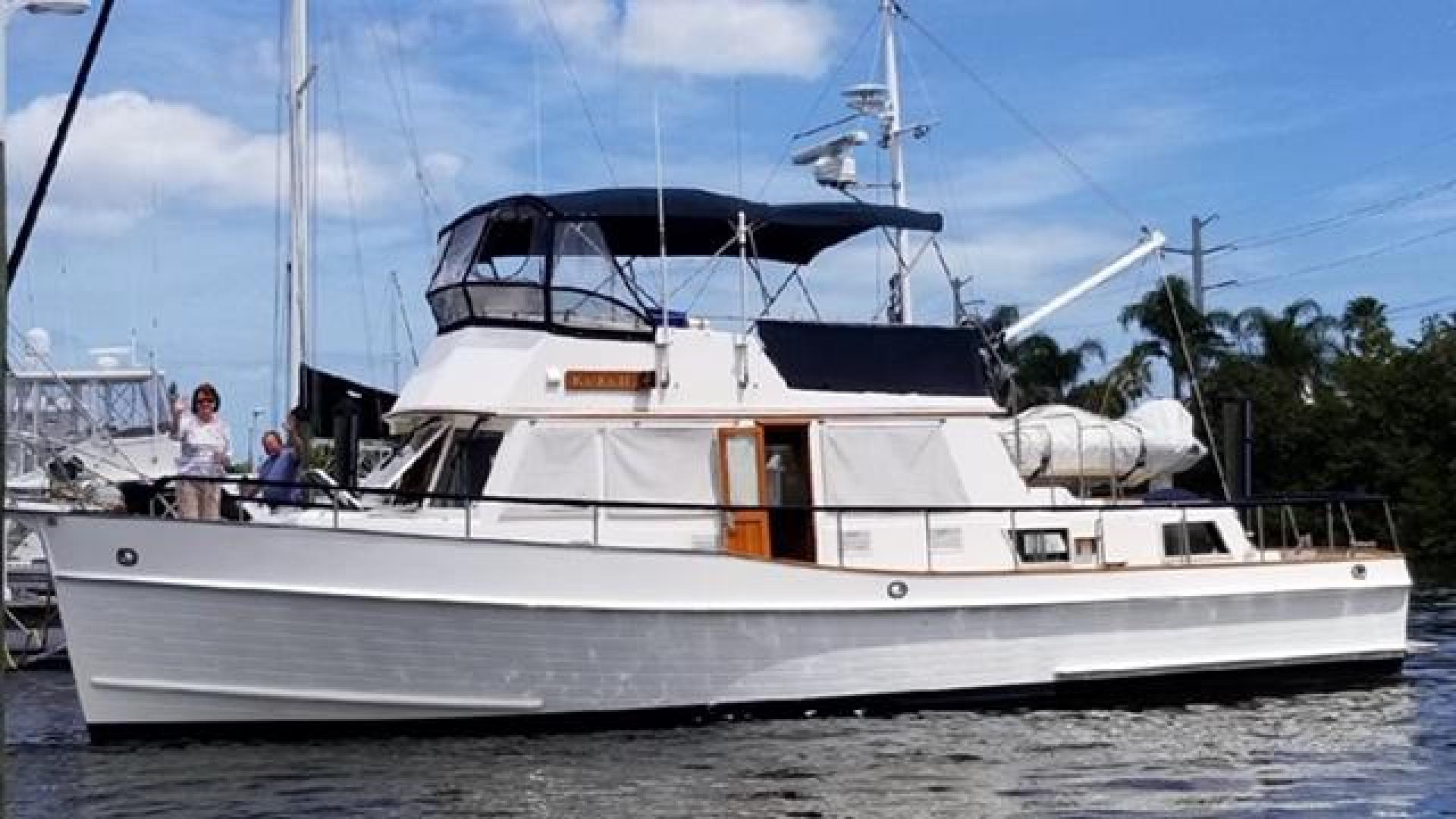 "1996 Grand Banks 42' 42' Classic ""Always Trust Your Cape"""