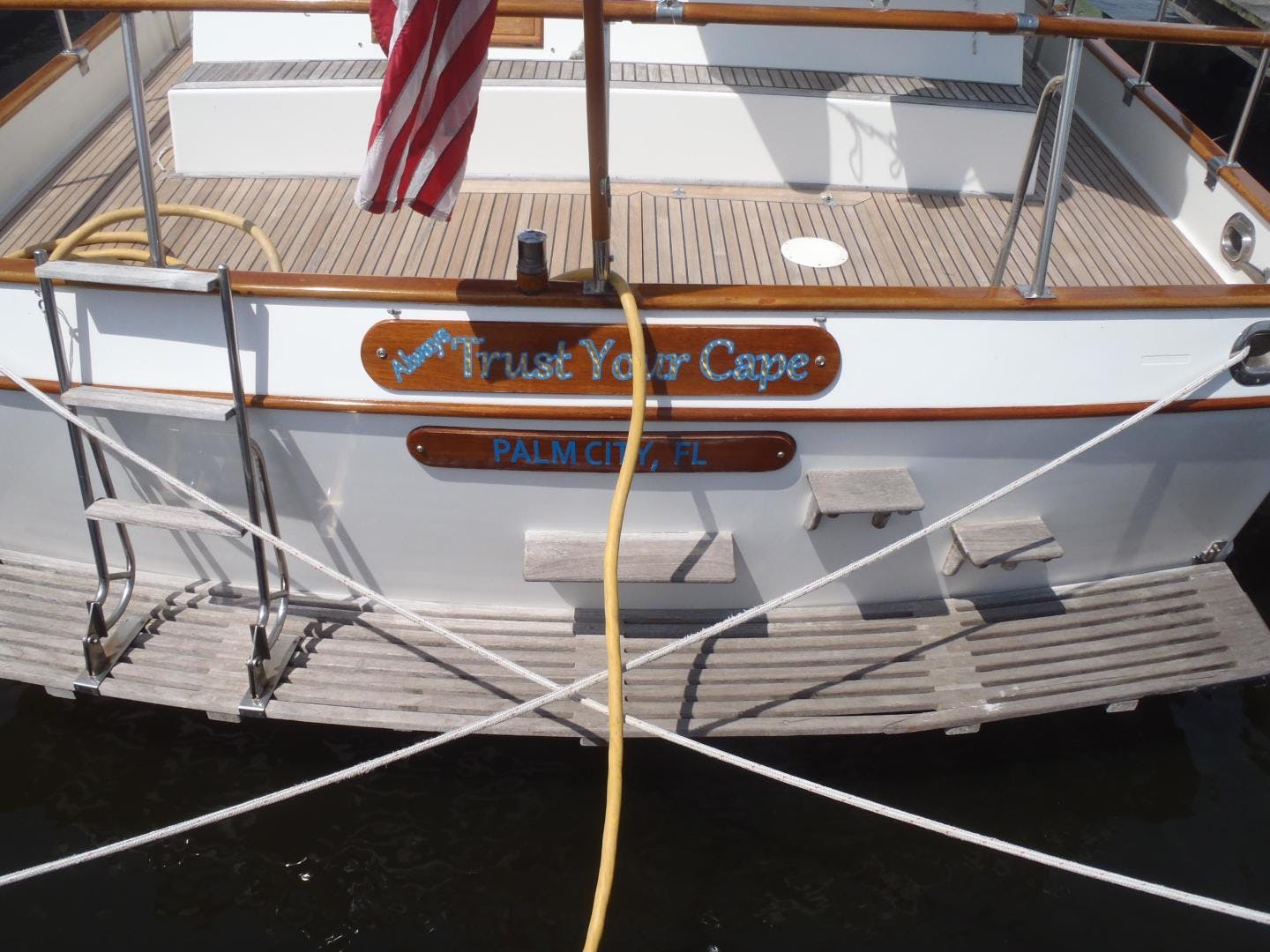 1996 Grand Banks 42' 42' Classic Always Trust Your Cape | Picture 5 of 60