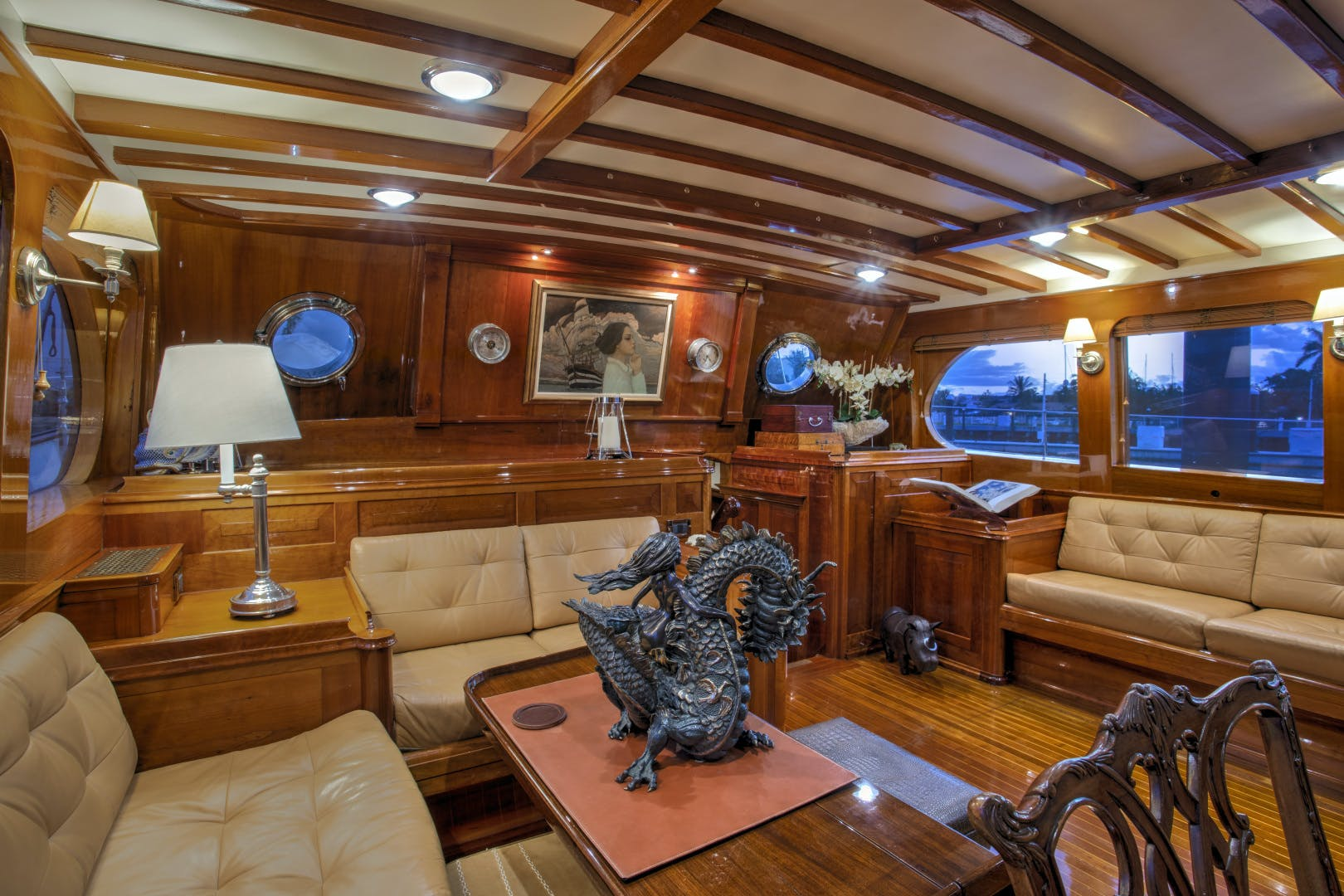 1956 Abeking & Rasmussen 90' Pilothouse Sea Diamond | Picture 1 of 37