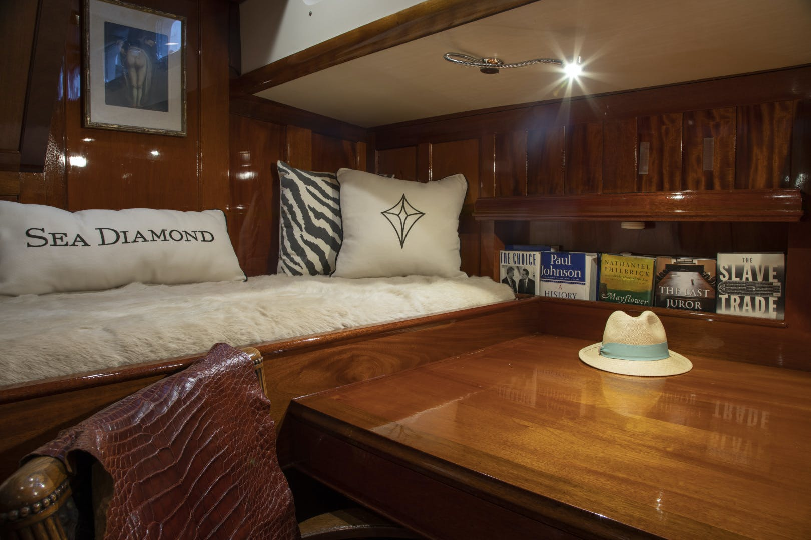 1956 Abeking & Rasmussen 90' Pilothouse Sea Diamond | Picture 7 of 37
