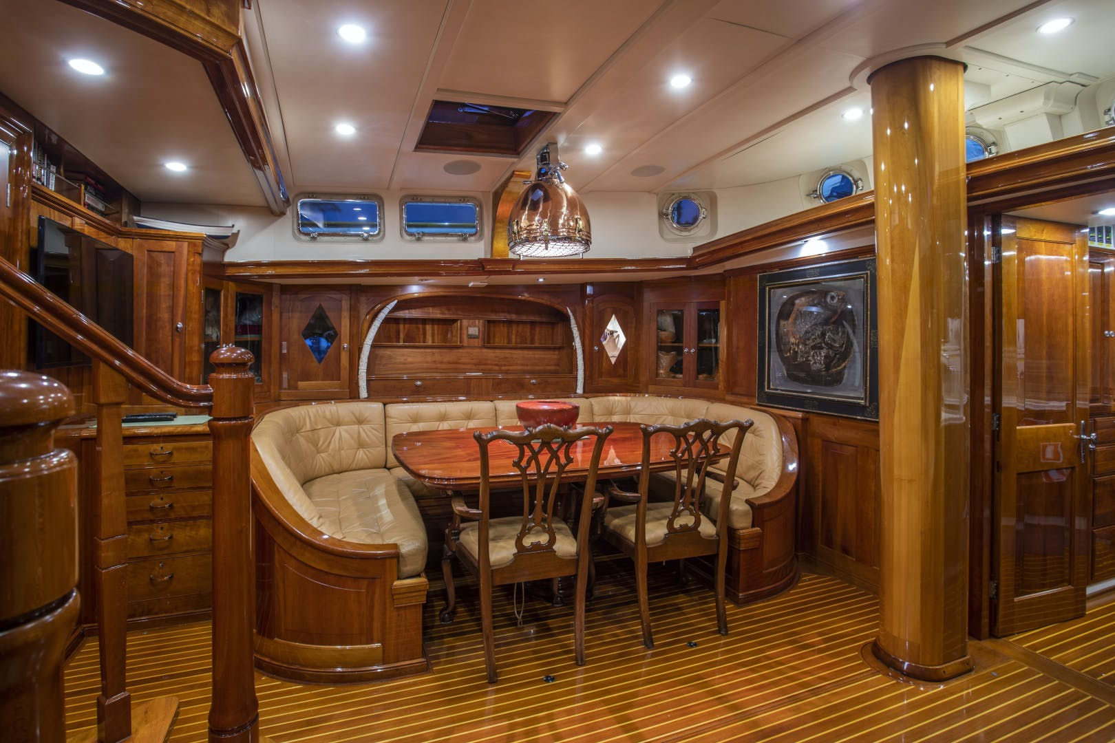 1956 Abeking & Rasmussen 90' Pilothouse Sea Diamond | Picture 6 of 37