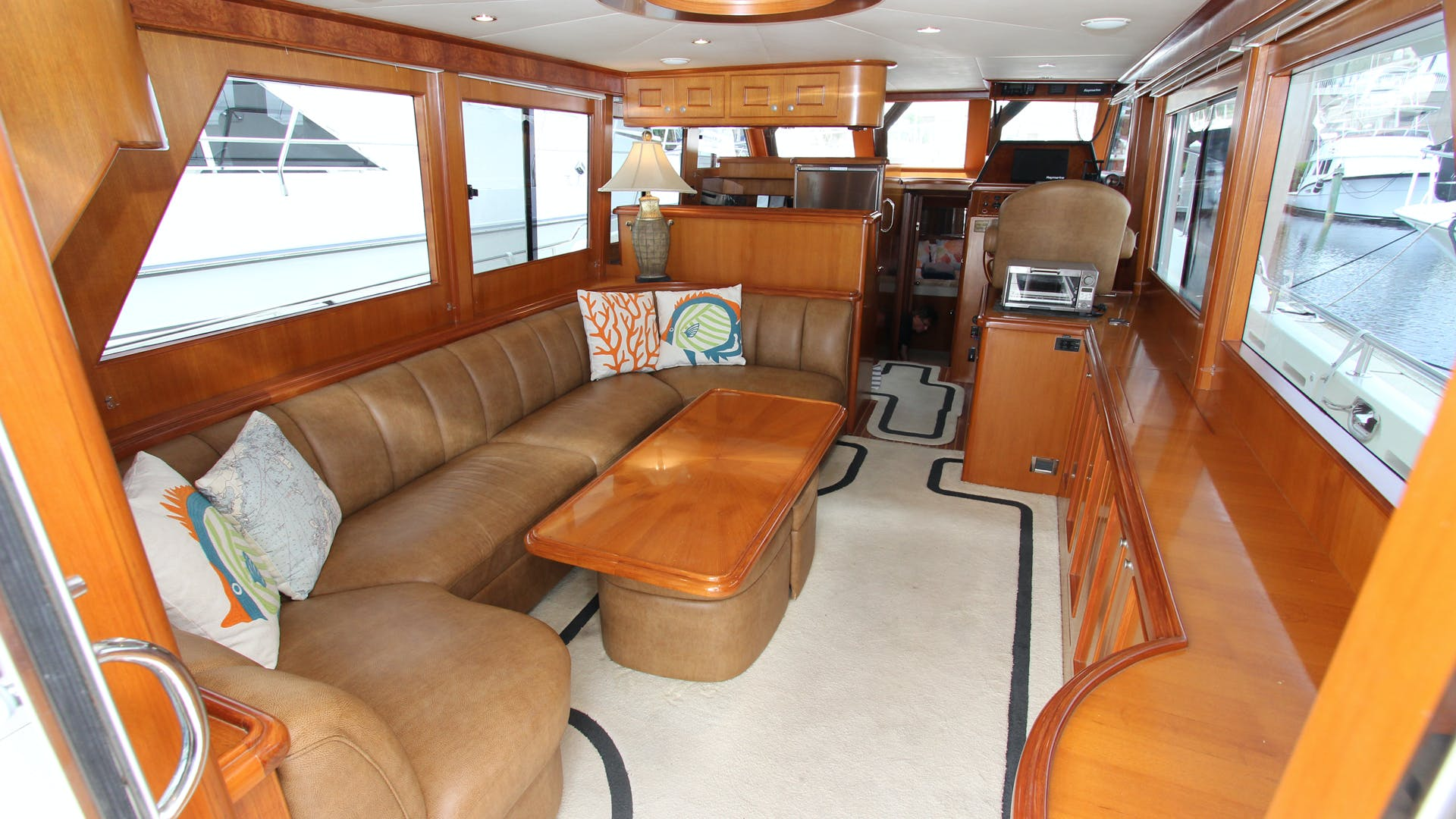 2006 Ocean Alexander 48' Classicco Lazy Suzan | Picture 4 of 13