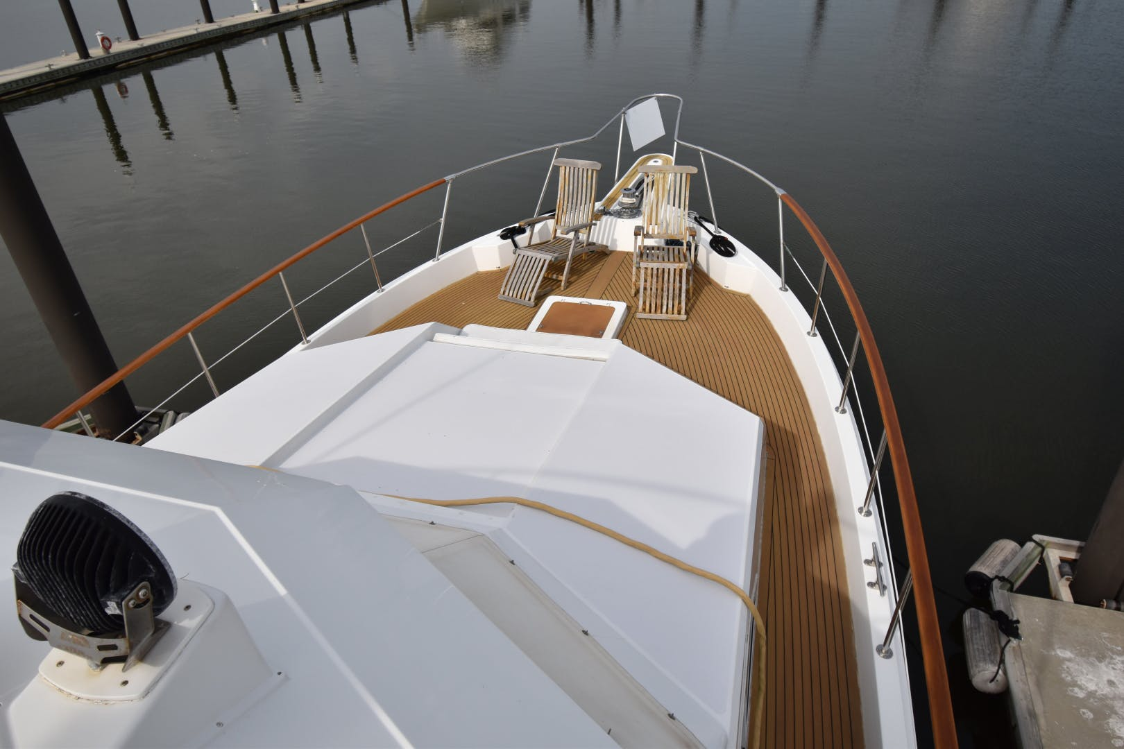 1988 Hatteras 67' 67  Cockpit Motor Yacht Lady Paragon | Picture 8 of 78