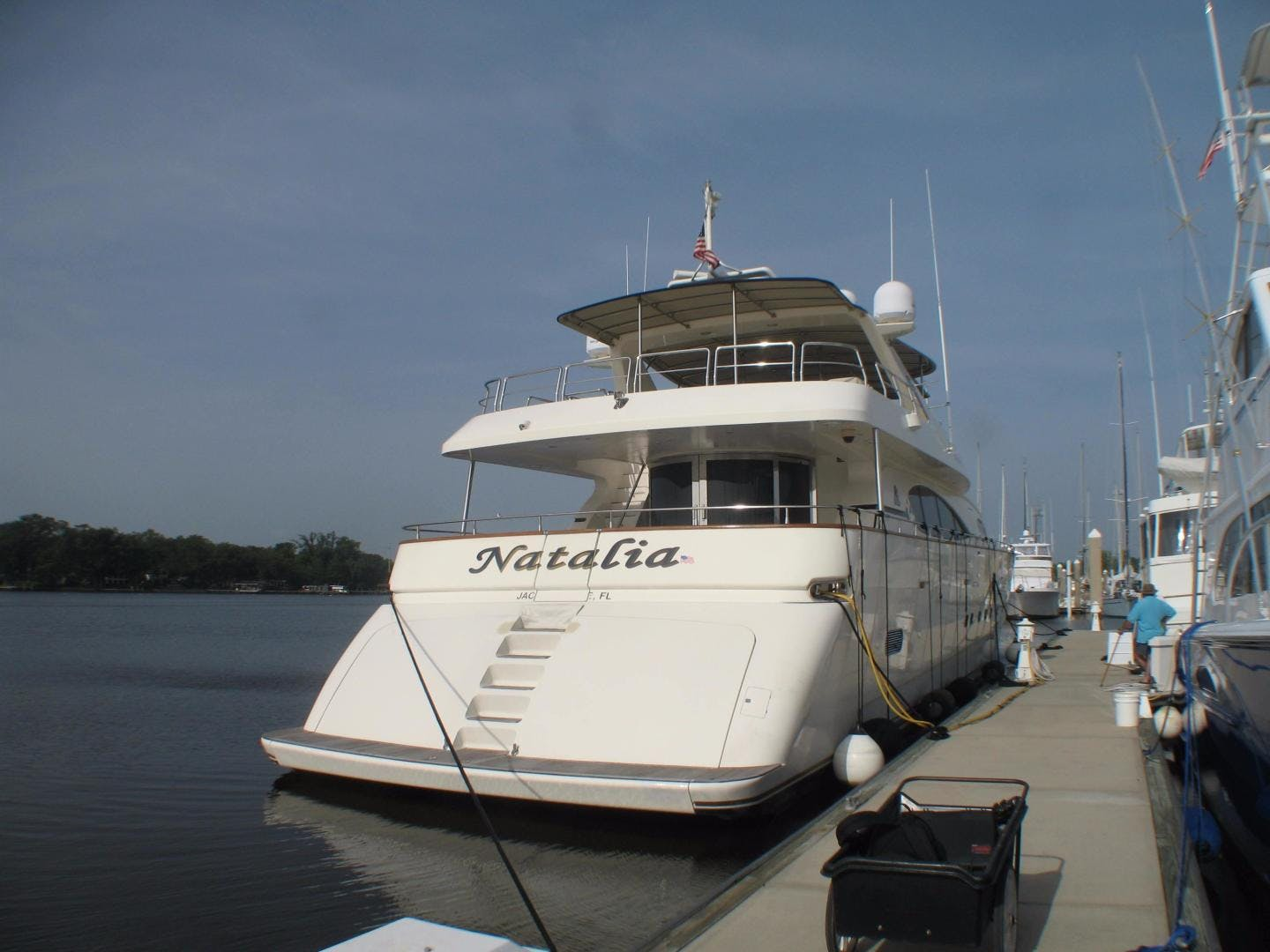 1996 Azimut 100' 100 Jumbo Natalia | Picture 7 of 83
