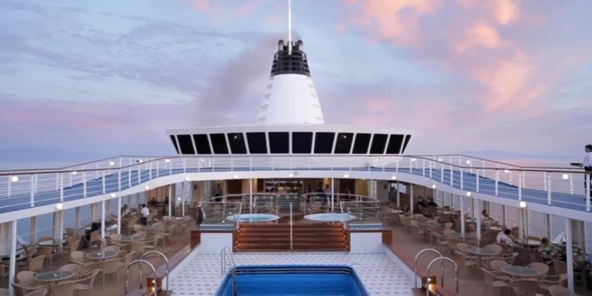 1990 Custom 579' ISHIKAWAJIMA Cruise Ship Aegean Paradise | Picture 1 of 14