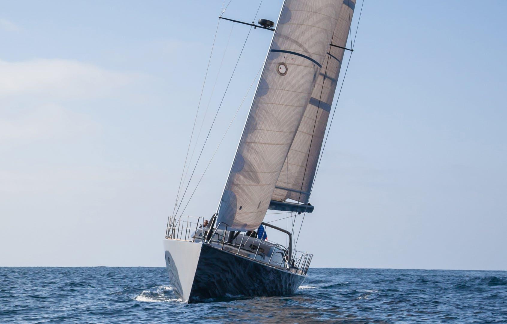 1996 Goetz / Derecktor 77' Custom Sparkman & Stephens Designed Performance Sailing Yacht AANDEEL | Picture 5 of 24