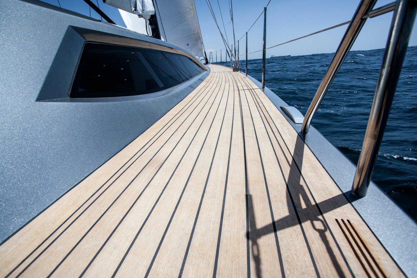 1996 Goetz / Derecktor 77' Custom Sparkman & Stephens Designed Performance Sailing Yacht AANDEEL | Picture 1 of 24