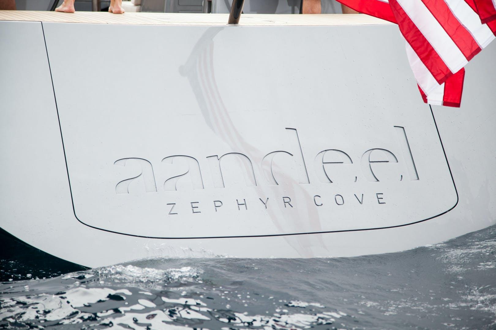 1996 Goetz / Derecktor 77' Custom Sparkman & Stephens Designed Performance Sailing Yacht AANDEEL | Picture 2 of 24