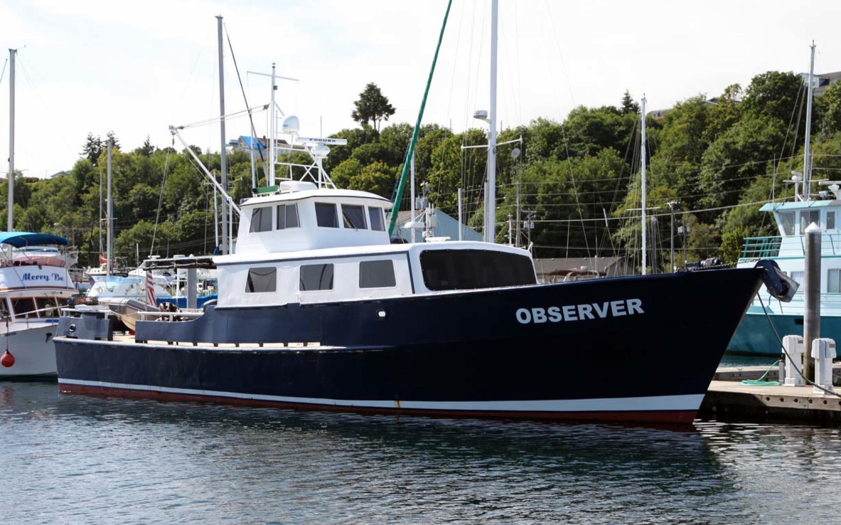 1966 Custom 60' Blount Marine Research Vessel
