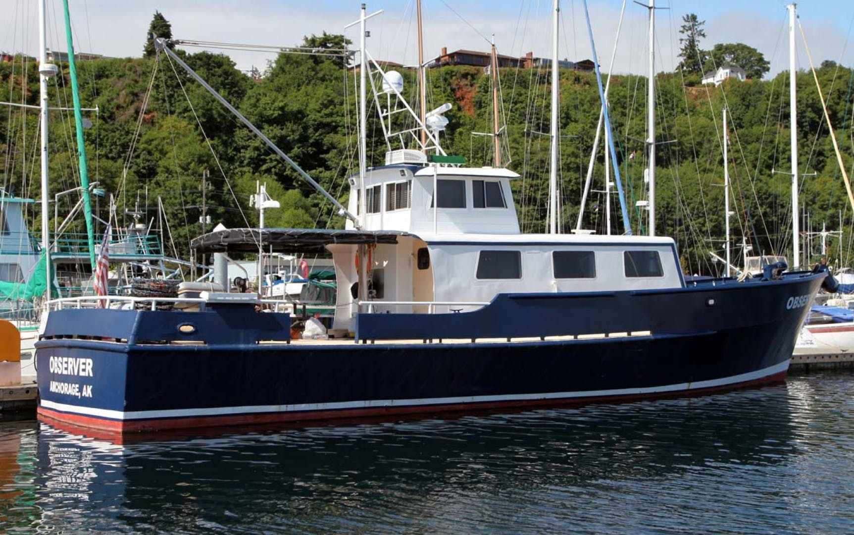1966 Custom 60' Blount Marine Research Vessel  | Picture 7 of 31